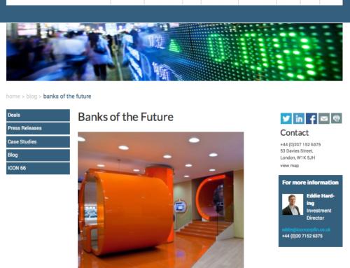 """ING Direct by Newtone tra le """"banche del futuro"""" sul blog ICON Corporate Finance"""